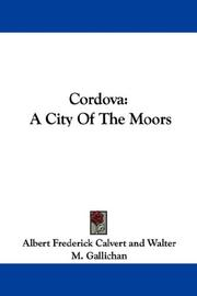 Cover of: Cordova