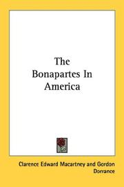 Cover of: The Bonapartes In America