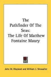 Cover of: The Pathfinder Of The Seas