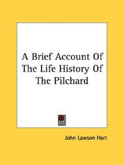 Cover of: A Brief Account Of The Life History Of The Pilchard