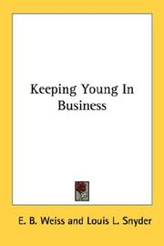 Cover of: Keeping Young In Business
