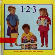 Cover of: 1, 2, 3