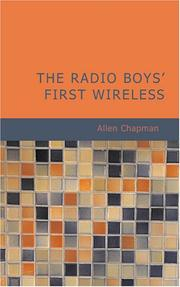 Cover of: The Radio Boys' First Wireless