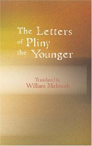 Cover of: The letters of Pliny the Younger