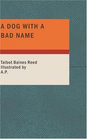 Cover of: A Dog with a Bad Name