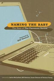 Cover of: Naming the Baby