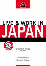 Cover of: Live & Work in Japan, 3rd (Live & Work - Vacation Work Publications)