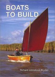 Cover of: Boats To Build