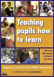 Cover of: Teaching Pupils How to Learn (Campaign for Learning)