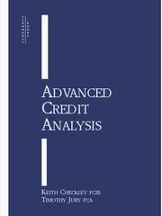 Cover of: Advanced Credit Analysis