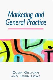 Cover of: MARKETING AND GENERAL PRACTICE