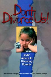 Cover of: Don't Divorce Us!