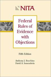 Cover of: Federal Rules of Evidence with Objections