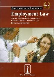 Cover of: Employment Law