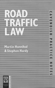 Cover of: Road Traffic Law (Practice Notes Series)
