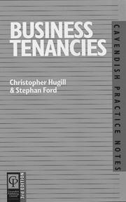 Cover of: Business Tenancies (Practice Notes Series)