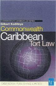 Cover of: Commonwealth Caribbean Tort Law