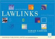 Cover of: Lawlinks