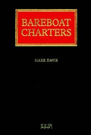 Cover of: Bareboat Charters (Lloyd's Shipping Law Library)