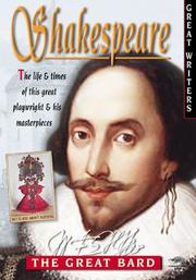 Cover of: Shakespeare (The Great Writers)