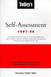 Cover of: Tolley's Self-assessment