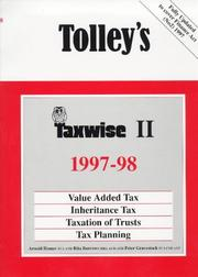 Cover of: Tolley's Taxwise 1997-1998