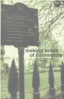 Cover of: Making Sense of Community