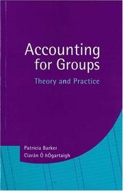 Cover of: Accounting for Groups