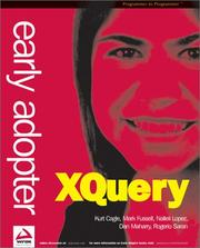Cover of: Early Adopter XQuery