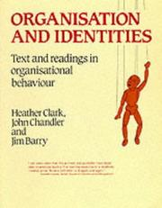 Cover of: Organisation and Identities