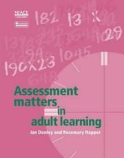 Cover of: Assessment Matters in Adult Learning