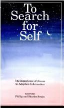 Cover of: The Search for Self