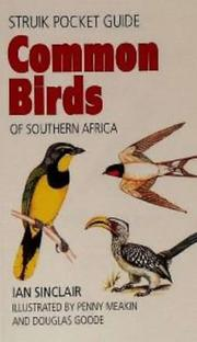 Cover of: Common Birds of Southern Africa (Struik Pocket Guides)