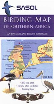 Cover of: Sasol Birding Map of Southern Africa