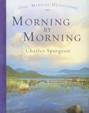 Cover of: One Minute Devotions Morning by Morning (One-Minute Devotions)