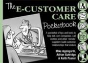 Cover of: The E-Customer Care Pocketbook (Management Pocketbook Series)