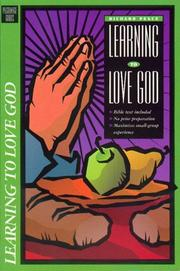Cover of: Learning to love God