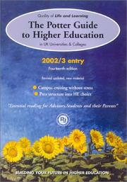 Cover of: The Potter Guide to Higher Education