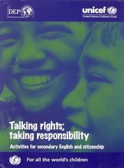 Cover of: Talking Rights, Taking Responsibility