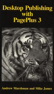 Cover of: Desktop Publishing with PagePlus 3 (Applications Library)