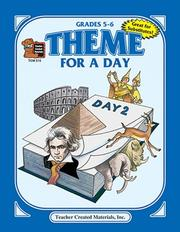 Cover of: Theme for a Day, Grades 5-6