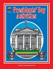 Cover of: Presidents' Day Activities