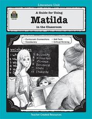 Cover of: Using Matilda in the Classroom