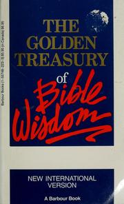 Cover of: The Golden Treasury of Bible Wisdom