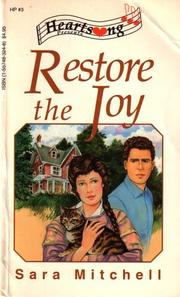 Cover of: Restore the Joy (Heartsong Presents #3)