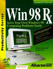Cover of: Win 98 Rx