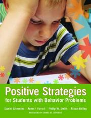 Cover of: Positive Strategies for Students With Behavior Problems