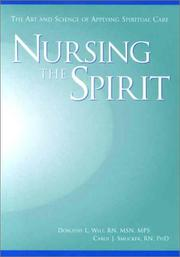 Cover of: Nursing the Spirit