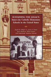 Cover of: Sustaining the Legacy