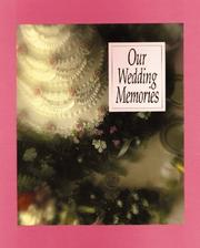 Cover of: Our Wedding Memories